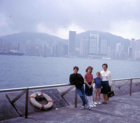 1986 03 01 Hong Kong view 2