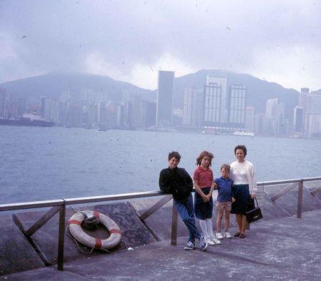 1986 03 01 Hong Kong view 2