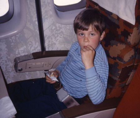 1986 09 Northwest Orient to Boston Joel