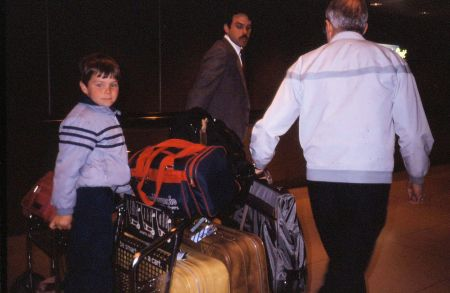 1986 10 Chicago O Hare Airport May Grandpa