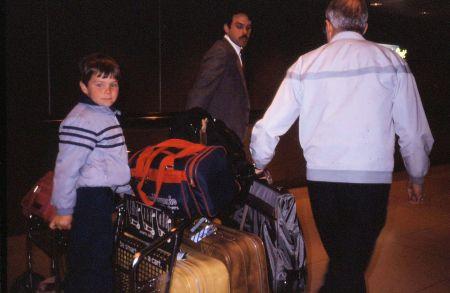 1986 10 Chicago O Hare Airport May Grandpa
